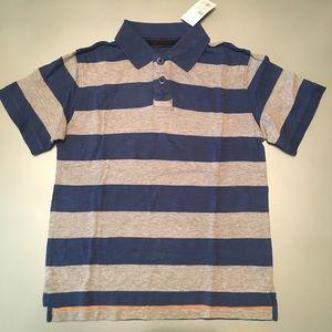 NWT: Cherokee SS Striped Polo Shirt